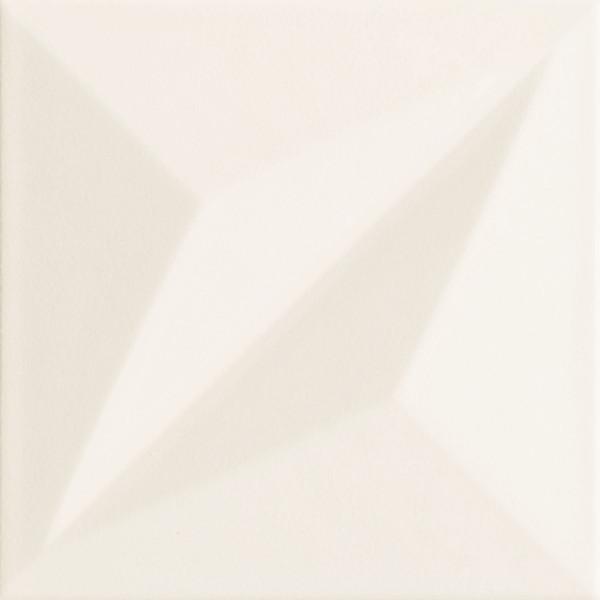 Colour White STR 1 Wandfliese