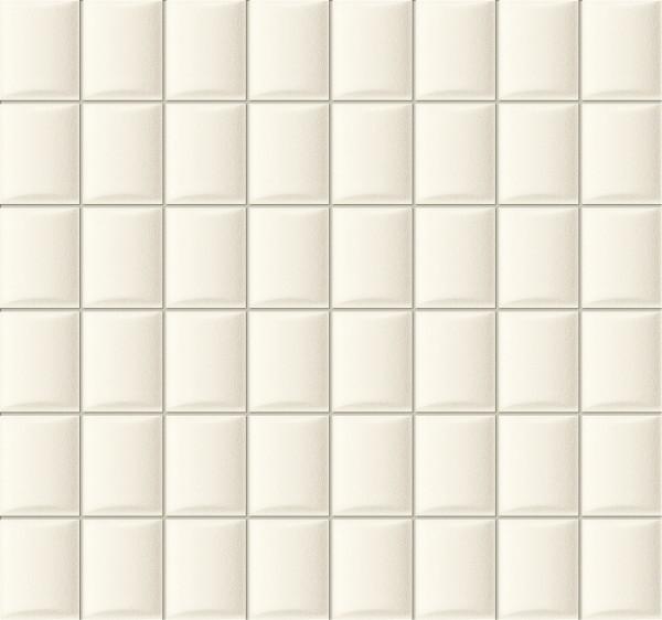 Elementary White Wandmosaik