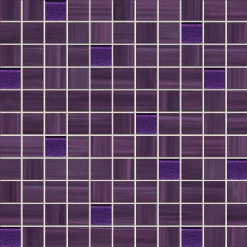 Wave Violet Wandmosaik