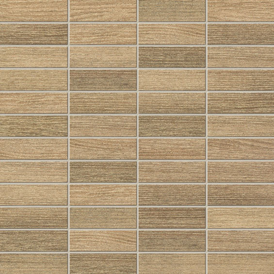 Warmes Klima Ilma Brown Wandmosaik 298x298 mm
