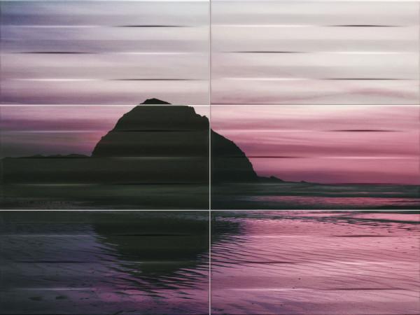 Maxima Violet 1 Wanddekor