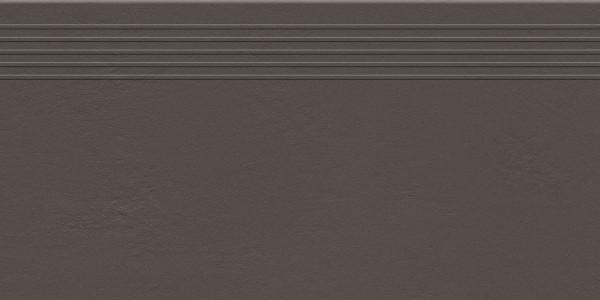 Industrio Dark Brown Treppenstufe 598x298 mm