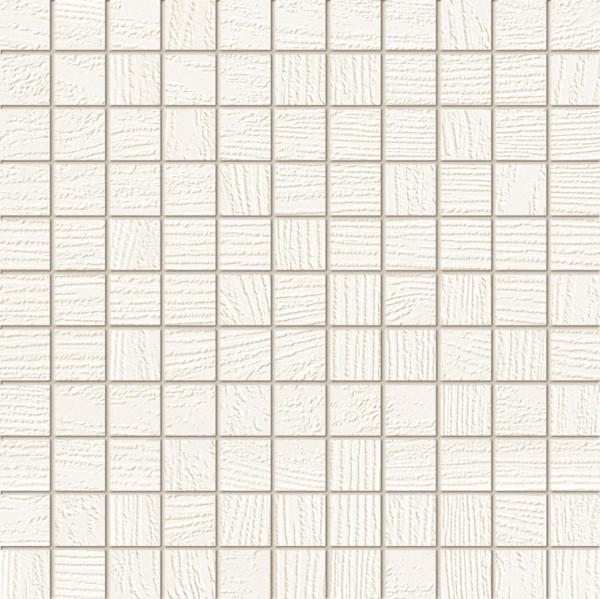 Timbre White Wandmosaik 298x298 mm