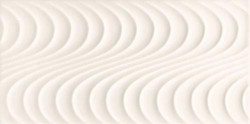 Wave White A Wandfliese