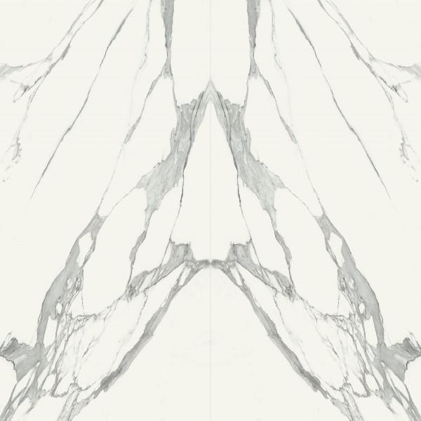 Monolith Specchio Carrara A/B POL Feinsteinfliesen 2398x2398 mm
