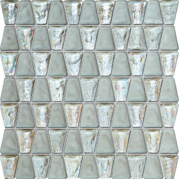 Elements Drops Glass White Wandmosaik