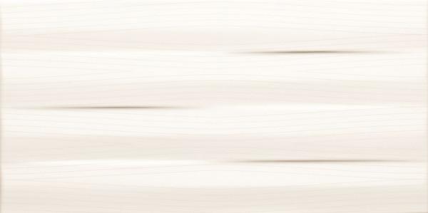 Maxima White Struktura Wandfliese 448x223 mm