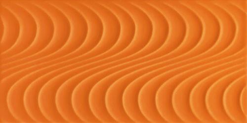 Wave Orange A Wandfliese