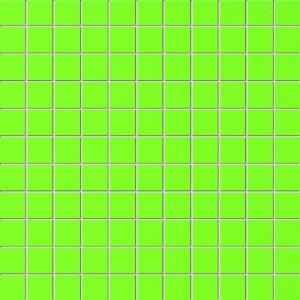 Green Wandmosaik