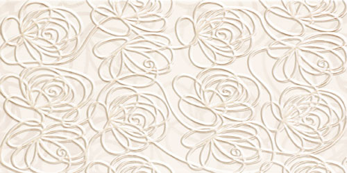 Wave Modern White Wanddekor
