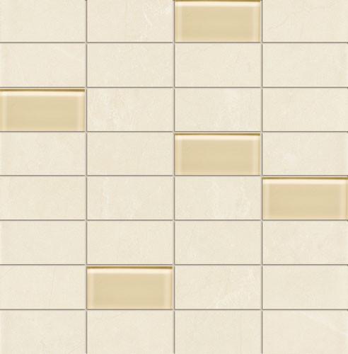 Gobi White Wandmosaik
