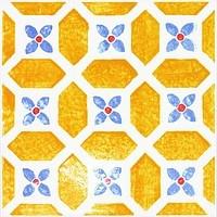 Majolika Avignon 12 Wanddekor 200x200 mm
