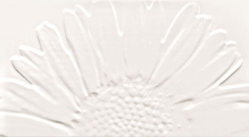 Sunflower White Wanddekor