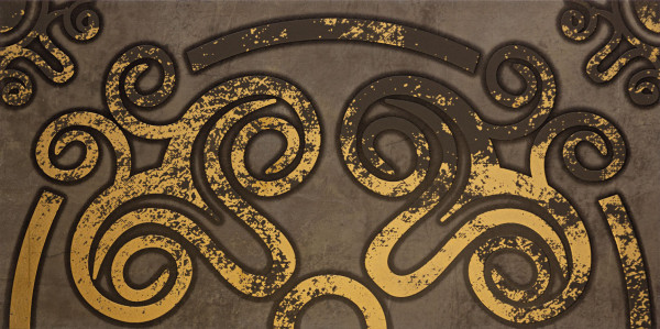 Warmes Klima Palacio Ornament Wandmosaik