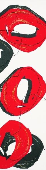 Pop Red Wandbordüre